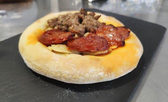 Castalla, Espanha: Restaurante Bodegón La Viscaya