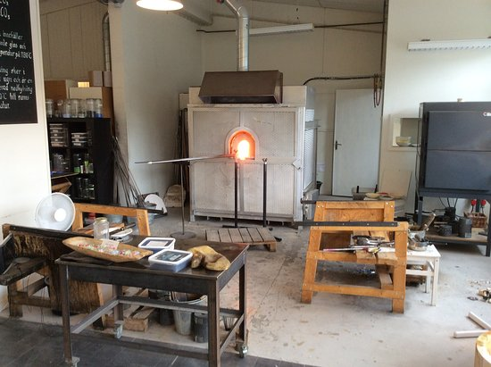 The furnace and workshop