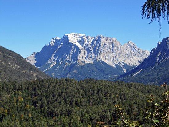 Biberwier, ออสเตรีย: Nice view of Zugspitze