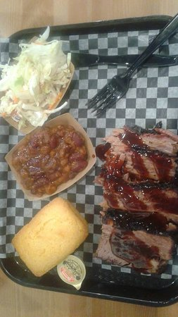 Beausejour, Καναδάς: Brisket special. I had to take it home to enjoy a second time. $15