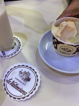 Horchateria La Valenciana: creme glacee nougat delicieuse