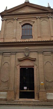 Ferrara, Italien: chiesa di S.Matteo / prospetto anteriore
