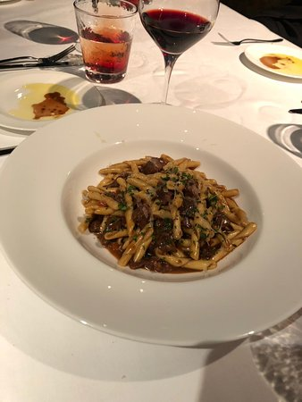 Cucina (Marco Polo Hongkong Hotel): Fresh pasta with lamb