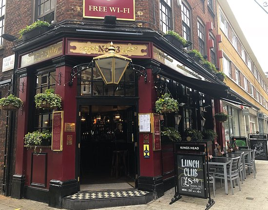 Average And Is One O The Taylor Walker Pubs Kings Head Pub London Traveller Reviews Tripadvisor