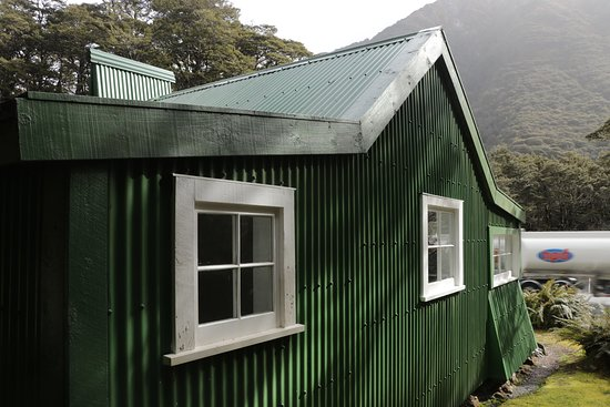 Arthur's Pass National Park, Nueva Zelanda: Jack's Hut - up close