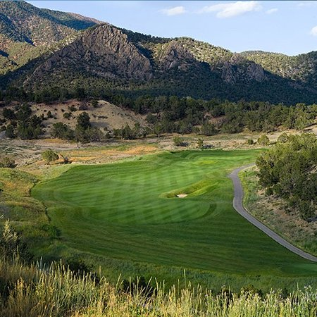New Castle, CO: Our fairways are in superb condtions during the golf season.