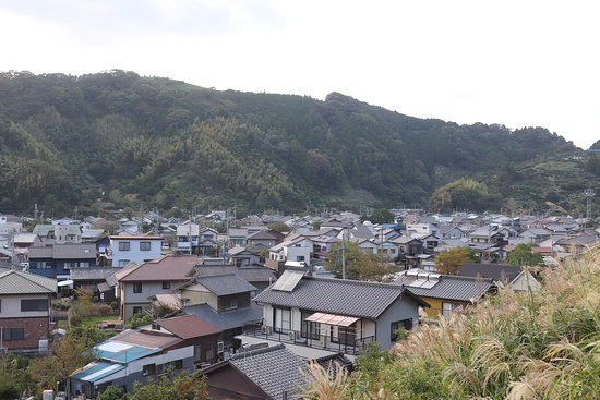 Fujieda, Japan: 岡部の町並み