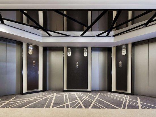 Landmark Towers Hotel: New Lift at Beijing Landmark Hotel