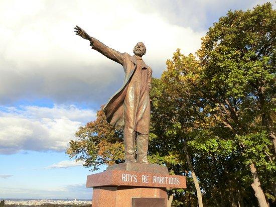 Doctor Clark Statue