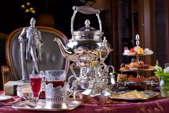 Hotel Metropol Moscow: Russian Tea Ceremony at Metropol Moscow Hotel