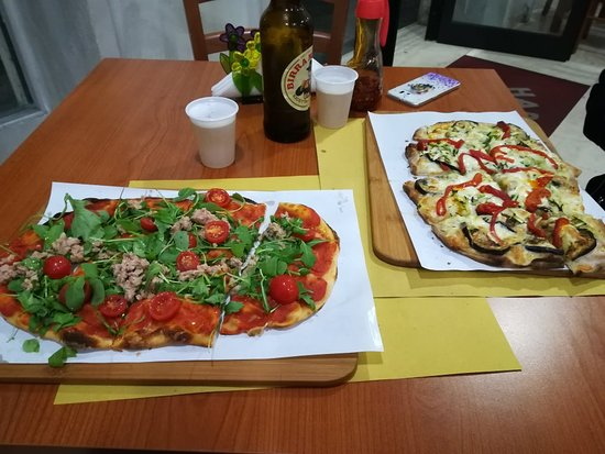 Tasty Pinsa and friendly owners