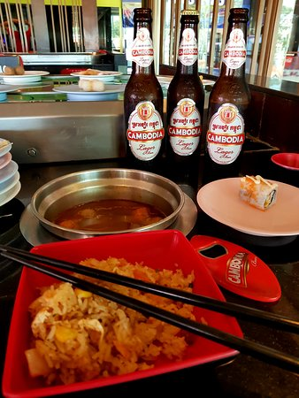 Lucky Shabu House: Local beers and food cooked at your table.