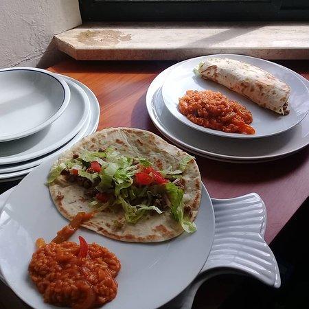 Serranova, Italy: Beef Tacos.