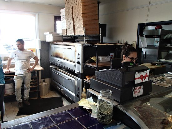 Pizza Village: THOSE OVENS WERE BUSY.
