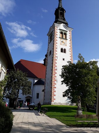 Bled Island: The church on the island