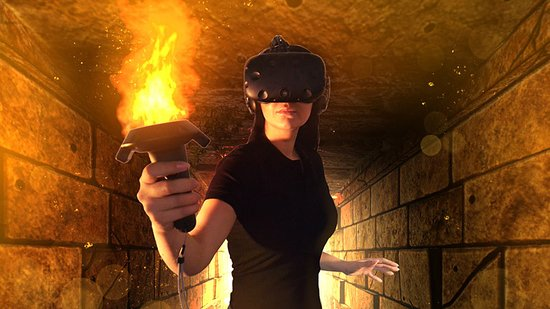 Milton Keynes, UK: Do You Dare Enter the VR Maze?