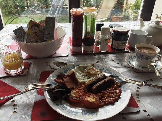 Norfolk, UK: Lovely full English!