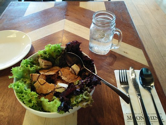 Moonshine Chicken Salad Picture Of Moonshine Kitchen Makati