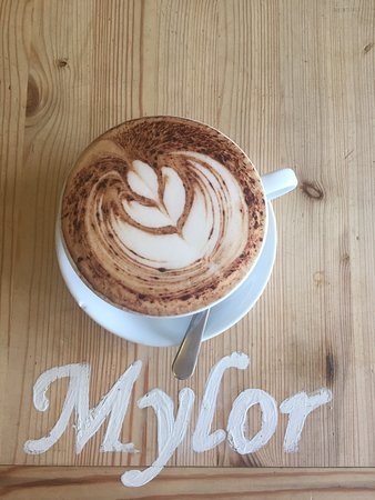 Mylor Churchtown, UK : Cappuccino - #Cornish_Coffee - #Puro Fair-trade Coffee