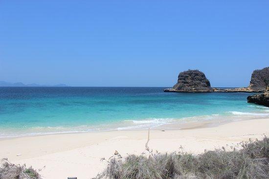 Jerowaru, Indonesia: 'private beach' with a very soft sand