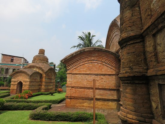 Udaipur, Indien:  Gunavati Group of Temples