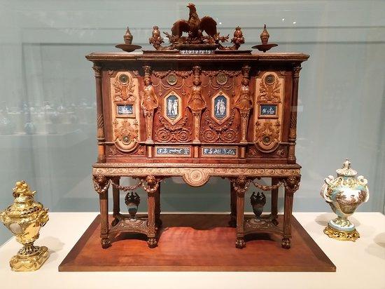 The Walters Art Museum: modello per il portagioie di maria antonietta