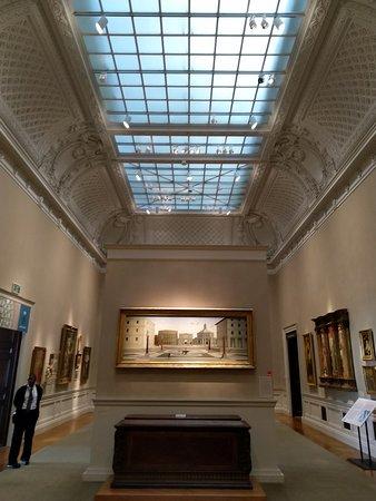 The Walters Art Museum: la città ideale sopra un cassone proveniente da palazzo davanzati a firenze