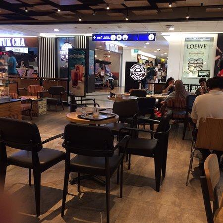 The Coffee Bean Tea Leaf Singapore 1 Harbourfront Walk Vivo City Maritime Square Menu Prices Tripadvisor