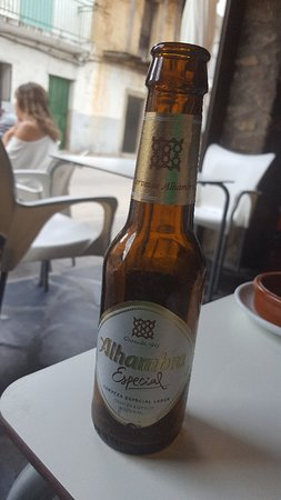 Acebo, Hiszpania: Cerveza de la buena