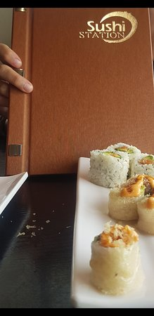 Menu Bug Sushi Picture At Sushi Station Thunder Bay Sushi Station Thunder Bay Tripadvisor I was starving all day and must of eaten half of the menu. tripadvisor