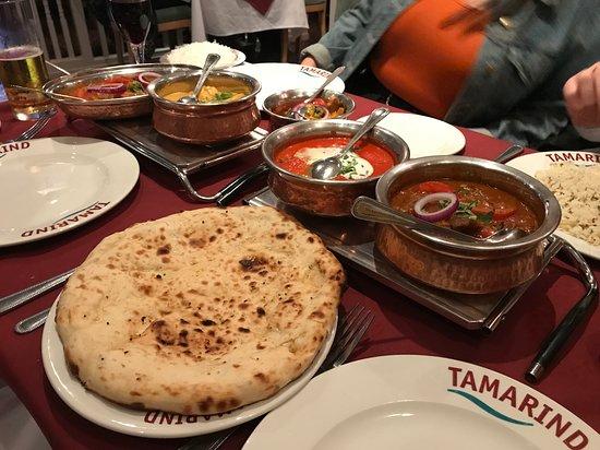 Downend, UK: Tamarind food