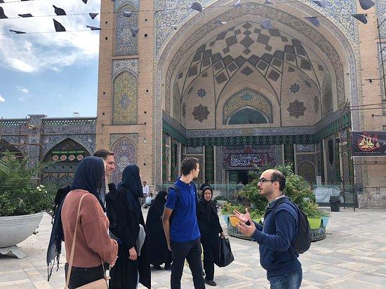 Walk Tehran
