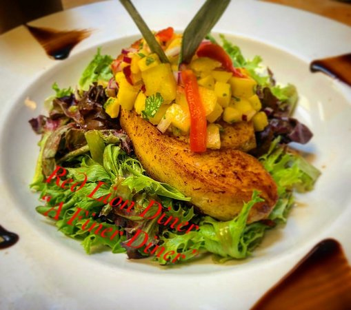 Southampton, นิวเจอร์ซีย์: CHICKEN BREAST with Mango Salsa