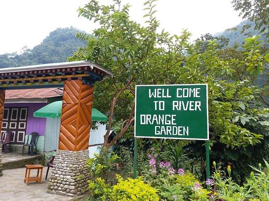 River Orange Garden