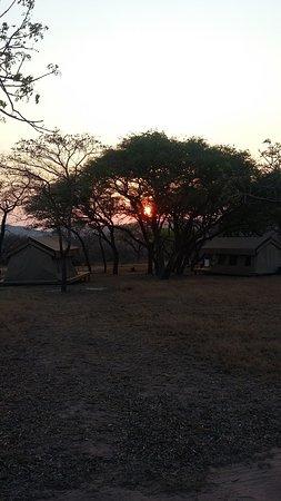 Hectorspruit, South Africa: Coucher de soleil