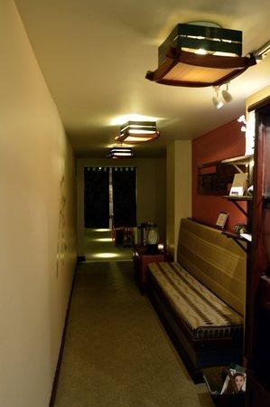 Lounge near entrance