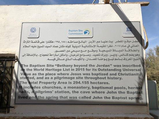42302c02289896 Baptism Site of Jesus. - Picture of Al-Maghtas