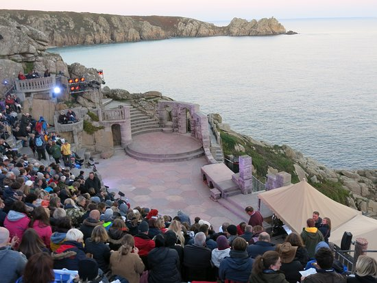 Minack Theatre: Before the performance
