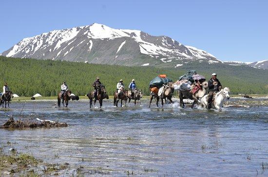 Bayan-Olgii Province, Mongoliet: Syrgali