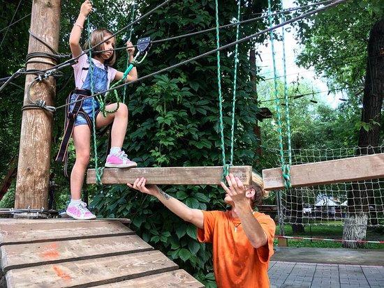 Slavyanskiy Skaz Rope Adventure Park