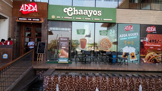 Chaayos at the Namaste Chandigarh Complex, before Dera Bassi.