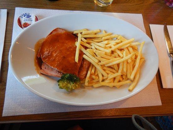 Stoos, Szwajcaria: Lunch pork chop