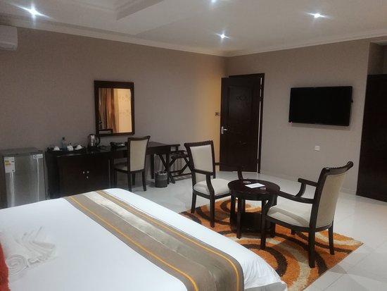 Palapye, Botsuana: Room
