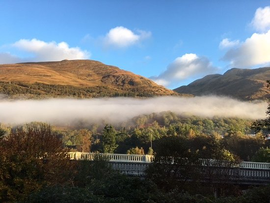 Kinlochleven, UK: View from our room
