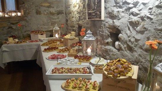 Ponteranica, Włochy: Buffet !!!