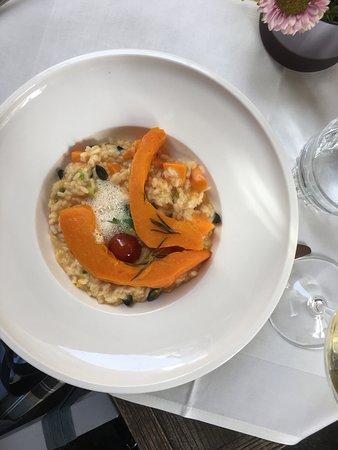 Restaurant S'Nockerl im Elefant: Pumpkin risotto