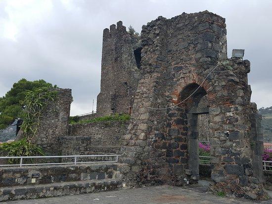 Castello Normanno: La zona più alta
