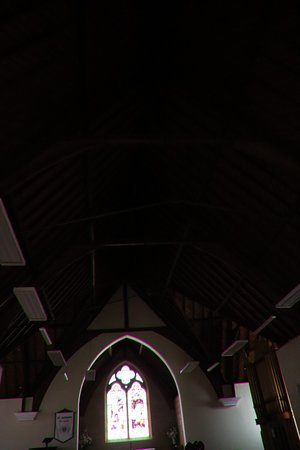 New Norfolk, أستراليا: Entering in the St Matthews Anglican Church