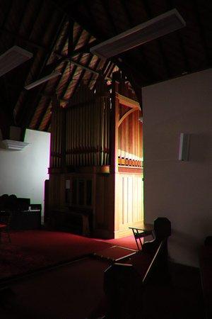 New Norfolk, أستراليا: The wooden organ