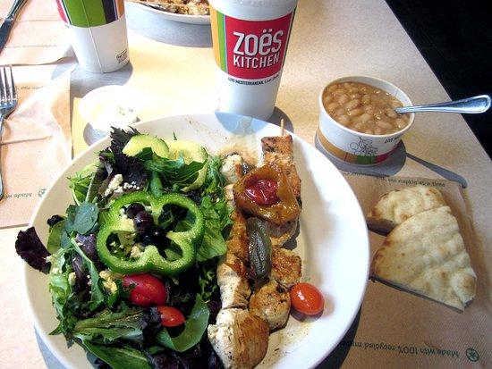 Steak Stack Sandwich Picture Of Zoes Kitchen Newtown